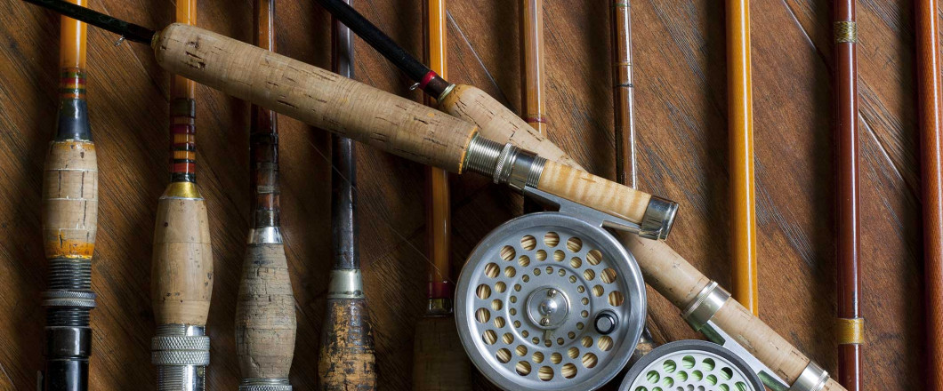 Decorate With Antique Fishing Gear